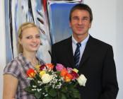 Frau Schreiber besteht Ausbildung zur Kauffrau für Bürokommunikation